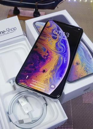Apple iPhone XS 64Gb. Silver ( neverlock ) магазин iPhoneShop