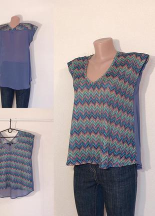 Распродажа по 100! 🔥 блуза блузка футболка под шифон размер s