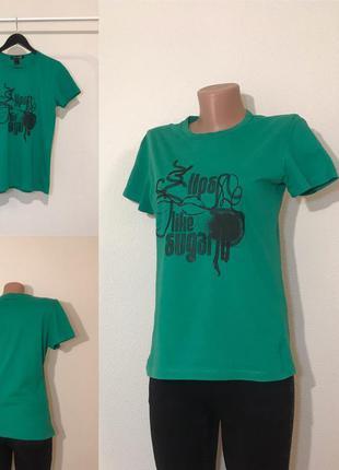 Стильная футболка от mango размер м