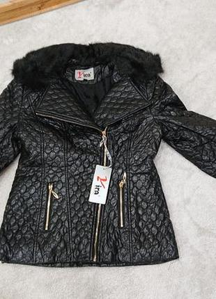 Куртка женская со съемным воротником