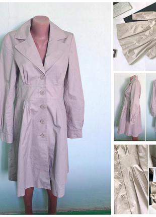 Распродажа! 🔥 стильный бежевый тренч пальто h&m. демисезон. ра...