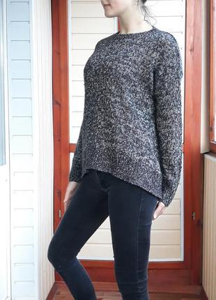 Классный акриловый оверсайз свитер джемпер new look. размер s