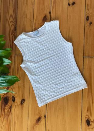 Блуза блузка versace оригинал белая. размер s