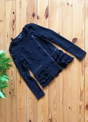Стильный актуальный жакет пиджак косуха forever21.