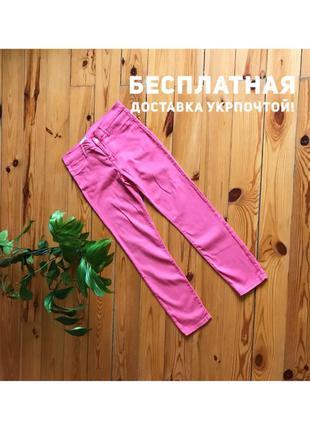 Стильные розовые джинсы узкачи узкие штаны скинни gap. 30/10