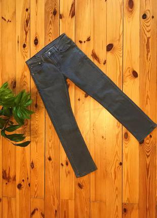 Распродажа! культовые прямые серые джинсы 511 levi's