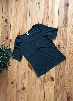 Красивая идзумрудная блуза блузка h&m. размер м