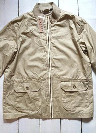 Куртка ветровка softshell livergy германия р. 54