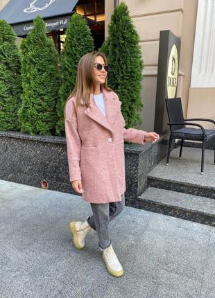 Шикарное пальто из каракуля