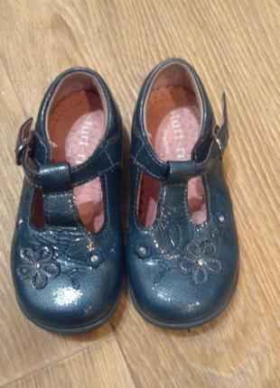 Туфли start-rite размер 5g. кожа
