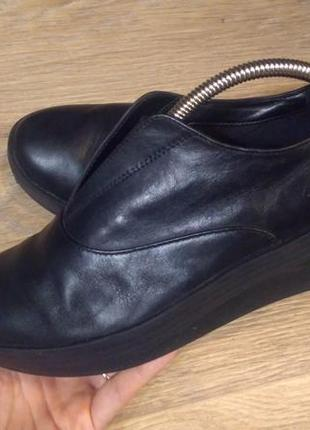 Туфли clarks 37 р. евр. 4 dстелька 24 см.