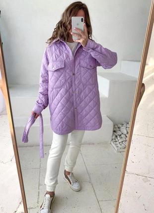 Женское пальто -рубашка