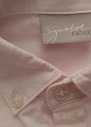 Рубашка next signature на 6лет