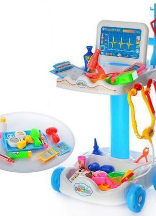 Детский игровой набор-тележка Умелый доктор 606-1 в комплекте ...