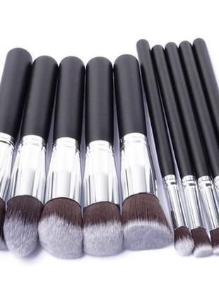 Набор кистей для макияжа kissemoji - 10 pc