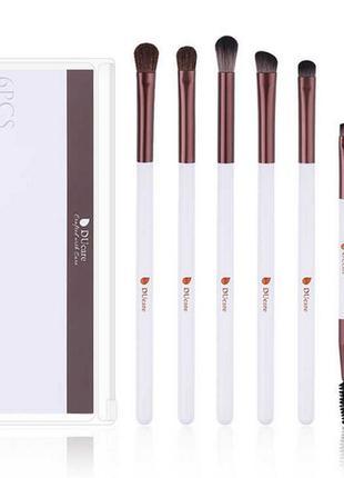 Набор кистей для макияжа  ducare 6 pieces eye makeup brush set...