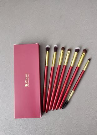 Набор кистей для макияжа ducare 7 pieces eye makeup brush set