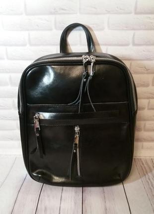 Кожаный рюкзак женский из натуральной кожи жіночий шкіряний по...