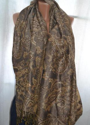 Тёплый женский шарф