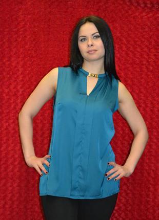 Офисная нарядная блузка