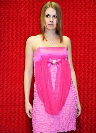 Летнее вечернее платье смок