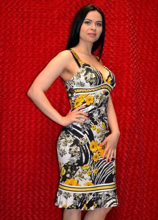 Летнее платье футляр
