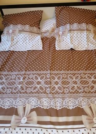 Постіль нова двохспальна.