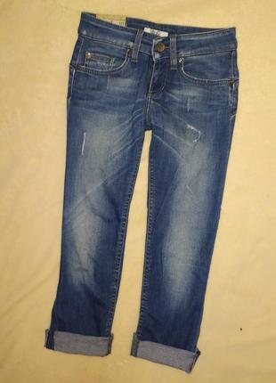 Укороченные джинсы, бриджи,штаны