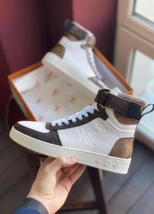 Кроссовки женские sneakers brown white