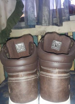Ботинки,Fila,кожа, оригинал