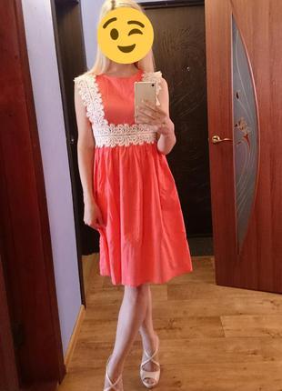 Распродажа! летнее, лёгкое платье