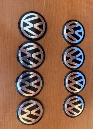 Наклейки Volkswagen в машину