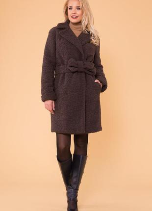 Меховое зимнее пальто   *!качество одежды на высоте!*