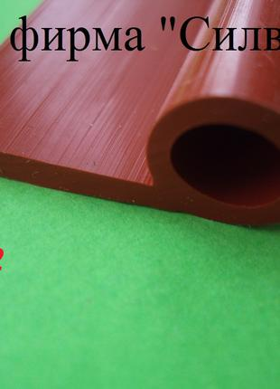 Уплотнитель силиконовый Р-образный 15мм