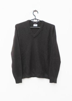 Зимний осенний 100% кашемировый свитер джемпер с длинным рукавом