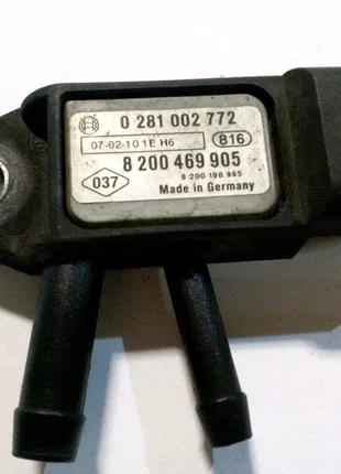 0281002772 Renault/Nissan Датчик давления выхлопных газов
