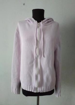 Реглан свитшот худи кофта вязанная