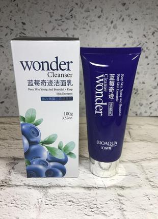 Антиоксидантная пенка для умывания bioaqua wonder cleanser