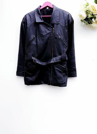Кожаная куртка косуха кожаный бомбер винтаж