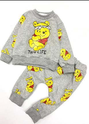 Теплый костюм для малышей Винни