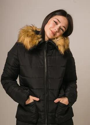 Стильная женская куртка синтепон 300