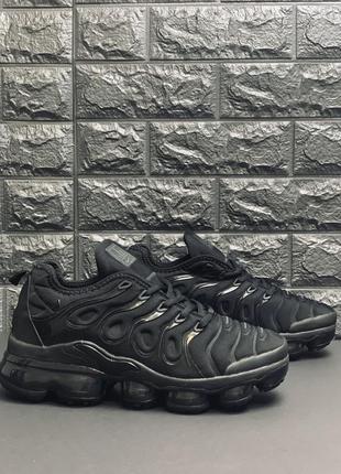Nike air vapormax чёрные кроссовки мужские кросовки найк вапормак