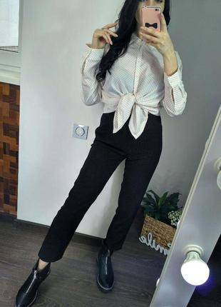 Блузка в горох m&s