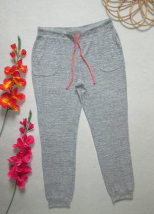 Суперовые трикотажные мягкие тепленькие спортивные штаны серый...