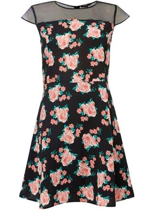 Платье в цветочный принт therapy
