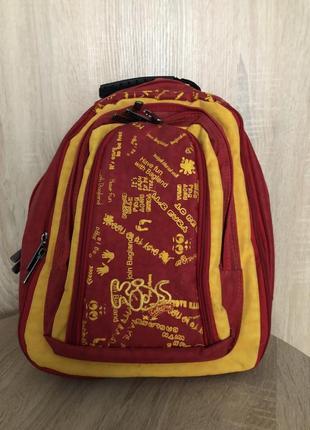 Рюкзак красно-желтый wallaby
