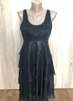 Платье в стиле ретро размер м черное
