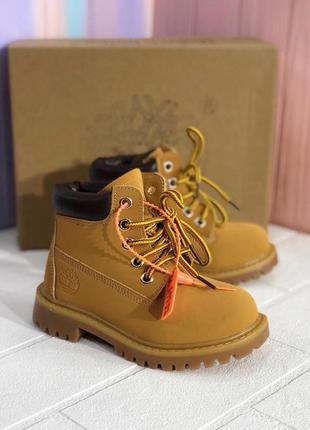 Lux качество! детские ботинки для мальчика timberlands 25-35р ...