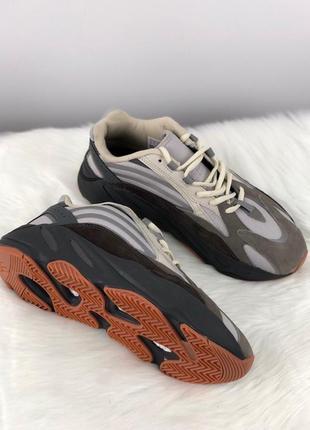 Adidas yeezy boost 700 kanye west v2 grey кроссовки женские ад...