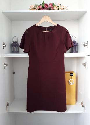 Платье с коротким рукавом ann tailor